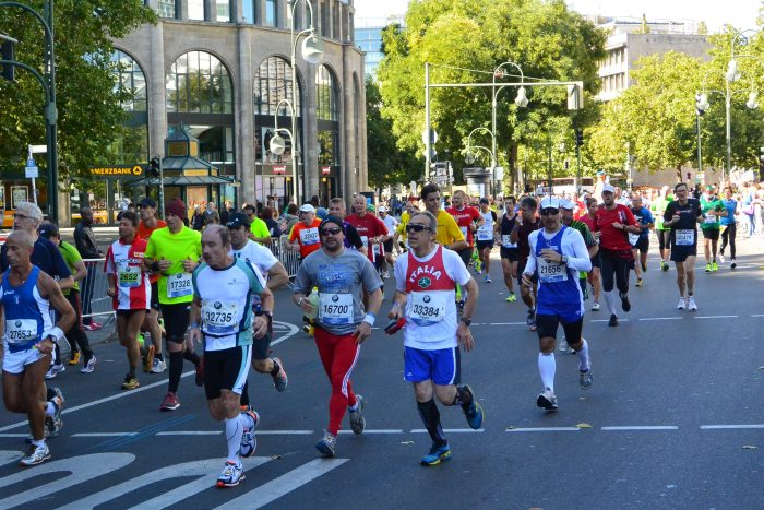 people running a marathon - Remember A Language You Have Started to Forget