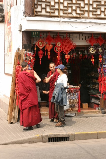 Chinese attire for tourists