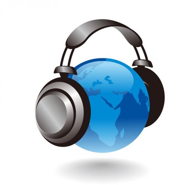 d-globo-con-los-auriculares-de-graficos-vectoriales_53-14372
