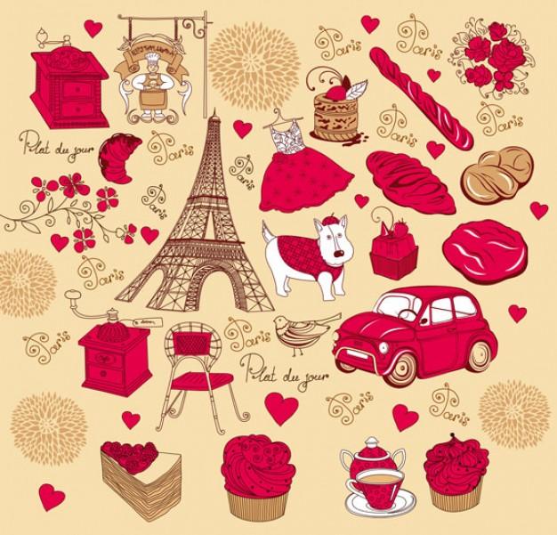 rosa-roja-de-material-frances-vector-de-tema_34-34092