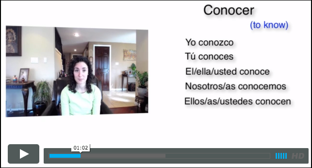 Spanish at Home - video