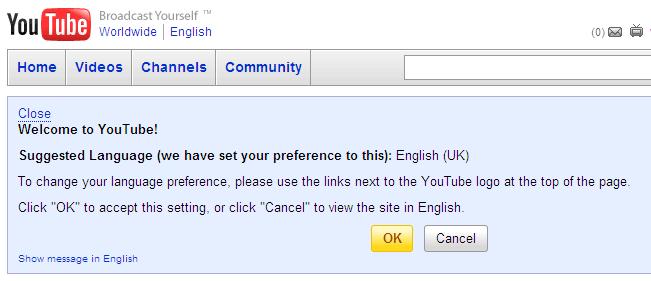 YouTube English vs English